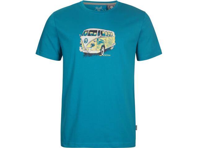 Elkline Gassenhauer T-Shirt Homme, bluebird
